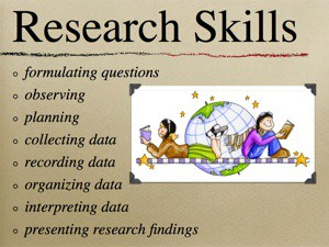 what are research skills pdf